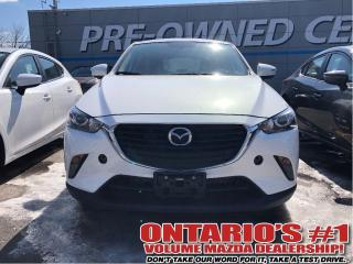 Used 2017 Mazda CX-3 GS-BACKUP CAM, BLUETOOTH/1.9%, C.P.O!!! for sale in Toronto, ON