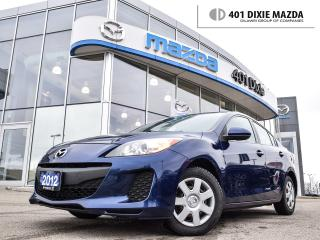 Used 2012 Mazda MAZDA3 Sport GX (M5)|NO ACCIDENTS|FINANCE AVAILABLE|BLUETOOTH for sale in Mississauga, ON