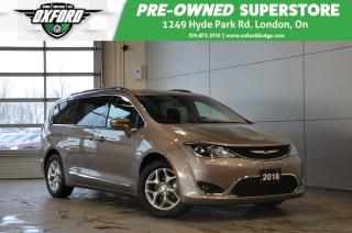 Used 2018 Chrysler Pacifica Touring L - One owner, leather interior, back up c for sale in London, ON
