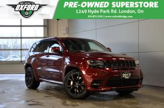 Used 2017 Jeep Grand Cherokee SRT - Rare, One Owner, Signature Leather Package for sale in London, ON