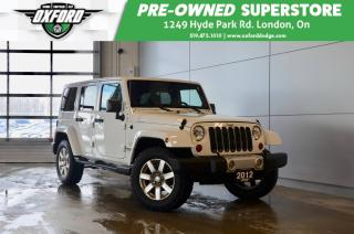 Used 2012 Jeep Wrangler Unlimited Sahara - Clean Carfax, Rust & Undercoated for sale in London, ON