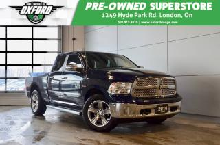 Used 2017 RAM 1500 Laramie - Diesel, Remote Start, Back Up Cam for sale in London, ON