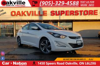 Used 2014 Hyundai Elantra LIMITED | NAV | LEATHER | HTD SEATS | SUNROOF for sale in Oakville, ON