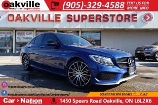 Used 2017 Mercedes-Benz C43 AMG NAVI | PANO | 360 CAM | AMG INT | NO ACCIDENT for sale in Oakville, ON