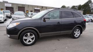 Used 2009 Hyundai Veracruz GLS AWD 7 PASSENGER *ONE OWNER* CERTIFIED 2YR WARRANTY SUNROOF LEATHER for sale in Milton, ON