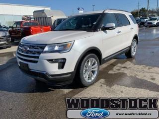 New 2019 Ford Explorer LIMITED  - Sunroof for sale in Woodstock, ON