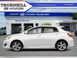 Used 2011 Toyota Matrix Base  -  Power Windows -  Power Seats for sale in Thornhill, ON