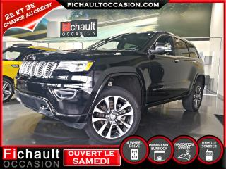 Used 2018 Jeep Grand Cherokee Overland **** NOIR INTERIEUR NOIR V6*** for sale in Châteauguay, QC