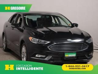 Used 2017 Ford Fusion SE HYBRIDE CUIR MAGS for sale in St-Léonard, QC