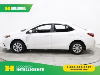 Used 2015 Toyota Corolla Ce Gr Elect for sale in St-Léonard, QC