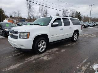 Used 2008 Chevrolet Suburban LTZ 7 passenger DVD sunroof safetied LTZ for sale in Madoc, ON