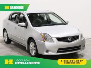Used 2012 Nissan Sentra 2.0 S A/C GR ELECT for sale in St-Léonard, QC