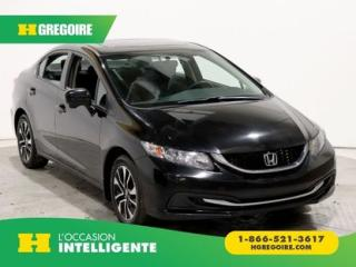 Used 2015 Honda Civic EX A/C GR ELECT for sale in St-Léonard, QC