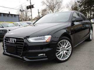Used 2015 Audi A4 2.0T QTRO S-LINE~KOMFORT~23,000KMS ONLY ONE OWNER for sale in Burlington, ON