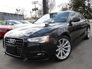 Used 2014 Audi A5 2.0T QTRO PROGRESSIV~NAVI~6 SPEED~ONE OWNER !!! for sale in Burlington, ON