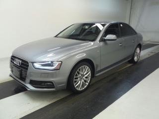 Used 2015 Audi A4 2.0T QTRO S-LINE KOMFORT~79KMS~SUNROOF !!! for sale in Burlington, ON