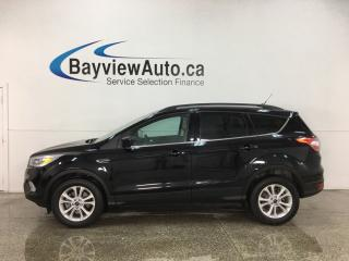 Used 2018 Ford Escape SEL - 4WD! HTD LTHR! ONLY 5,000KMS! for sale in Belleville, ON
