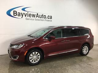 Used 2018 Chrysler Pacifica Touring-L Plus - APPLE CARPLAY! REV CAM! LTHR! PWR DOORS! for sale in Belleville, ON