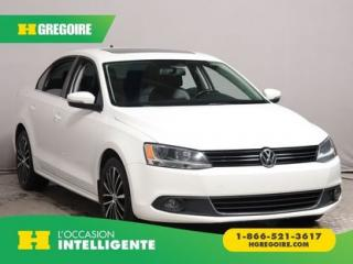 Used 2014 Volkswagen Jetta HIGHLINE CUIR TOIT for sale in St-Léonard, QC