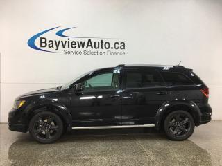Used 2018 Dodge Journey Crossroad - AWD! 7PASS! LTHR! NAV! SUNROOF! DVD! for sale in Belleville, ON