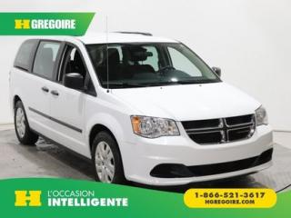 Used 2016 Dodge Grand Caravan VALUE PACKAGE AC for sale in St-Léonard, QC