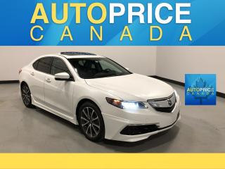 Used 2015 Acura TLX Tech AERO PKG|AWD|NAVIGATION|LEATHER for sale in Mississauga, ON