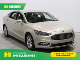Used 2017 Ford Fusion SE HYBRIDE CUIR GR for sale in St-Léonard, QC