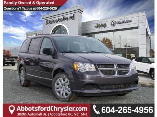Used 2017 Dodge Grand Caravan CVP/SXT New Demo w/ Less Than 1000 KM for sale in Abbotsford, BC