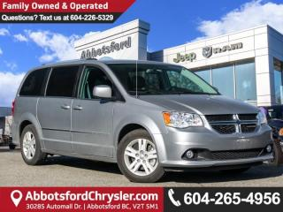Used 2015 Dodge Grand Caravan Crew - Locally Driven, Low Mileage for sale in Abbotsford, BC