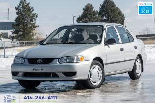 Used 2002 Toyota Corolla AUTO/AIR/LOCK 90K CERTIFIED SERVICED 8 TIRES/RIMS for sale in Bolton, ON
