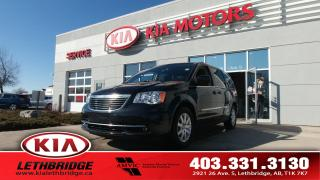 Used 2015 Chrysler Town & Country Touring - UNDER 55,000 KM - 7 PASSENGER - TOUCHSCREEN - BACKUP CAMERA - for sale in Lethbridge, AB