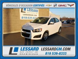 Used 2012 Chevrolet Sonic Ls, Regulateur De for sale in Shawinigan, QC