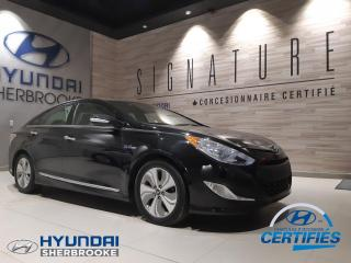 Used 2015 Hyundai Sonata Hybride HYBRIDE LIMITED TECH+GPS+CUIR+TOIT for sale in Sherbrooke, QC