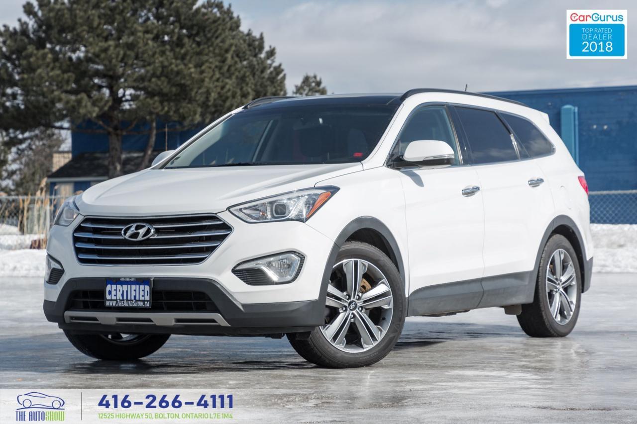 2015 Hyundai Santa Fe XL AWD NAVI TECH LEATHER & ROOF NO ACCIDENT CERTIFIED