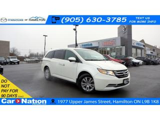 Used 2017 Honda Odyssey EX-L w/RES| LEATHER | SUNROOF | DVD | REAR CAM for sale in Hamilton, ON