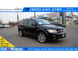 Used 2016 Dodge Journey SXT/Limited LIMITED| SUNROOF | DVD| REAR CAM |7 SEATS for sale in Hamilton, ON