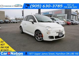 Used 2012 Fiat 500 Sport SPORT | 5 SPEED | LEATHER | SUNROOF for sale in Hamilton, ON