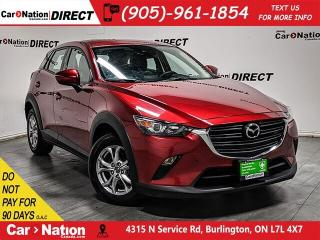 Used 2019 Mazda CX-3 GS Luxury| AWD| LEATHER-TRIMMED SEATS| SUNROOF| for sale in Burlington, ON