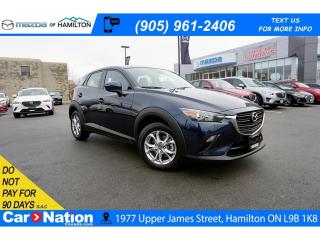 Used 2019 Mazda CX-3 GS | LEATHERETTE | SUNROOF | REAR CAM | for sale in Hamilton, ON