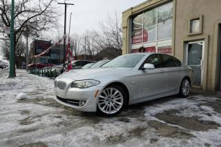 Used 2011 BMW 550i Traction intégrale xDrive 550i Berline 4 for sale in Laval, QC