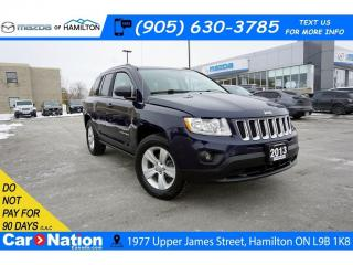 Used 2013 Jeep Compass Sport/North NORTH | 4WD | HEATED SEATS | SAT RADIO| for sale in Hamilton, ON