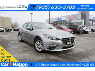 Used 2016 Mazda MAZDA3 GS | HEATED SEATS | REAR CAM | BLUETOOTH for sale in Hamilton, ON