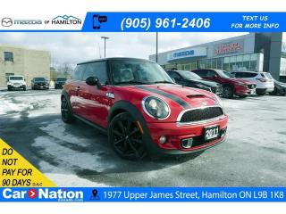 Used 2011 MINI Cooper S LEATHER | PANO SUNROOF | HEATED SEATS | 6 SPEED for sale in Hamilton, ON