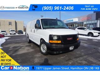 Used 2017 GMC Savana 2500 Work Van | ONSTAR | CLIMATE CONTROL | SPACIOUS for sale in Hamilton, ON