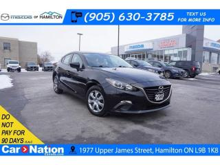 Used 2015 Mazda MAZDA3 GX | CD PLAYER | CLIMATE CONTROL | TIPTRONIC for sale in Hamilton, ON