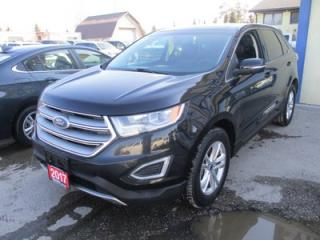 Used 2017 Ford Edge ALL-WHEEL DRIVE SEL MODEL 5 PASSENGER 3.5L - V6.. LEATHER.. HEATED SEATS.. PANORAMIC SUNROOF.. NAVIGATION.. BACK-UP CAMERA.. BLUETOOTH.. for sale in Bradford, ON