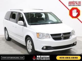 Used 2016 Dodge Grand Caravan Crew Stow&go A/c for sale in Laval, QC