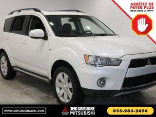 Used 2012 Mitsubishi Outlander GT-CUIR-BLUETOOTH for sale in Laval, QC