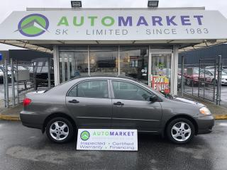 Used 2005 Toyota Corolla CE AUTO WE CAN FINANCE ANY CREDIT! for sale in Langley, BC