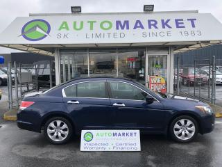 Used 2008 Honda Accord EX-L YOU WORK/YOU DRIVE! SERVICE HISTORY! for sale in Langley, BC